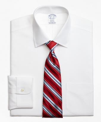 Stretch Regent Regular-Fit Dress Shirt,  Non-Iron Pinpoint Spread Collar