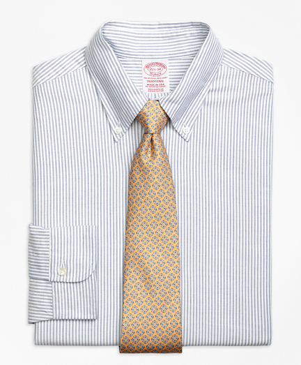 Original Polo® Button-Down Oxford Traditional Fit Dress Shirt, Bengal Stripe