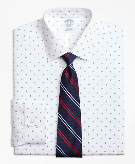 Non-Iron Regent Fit Double Square Dress Shirt