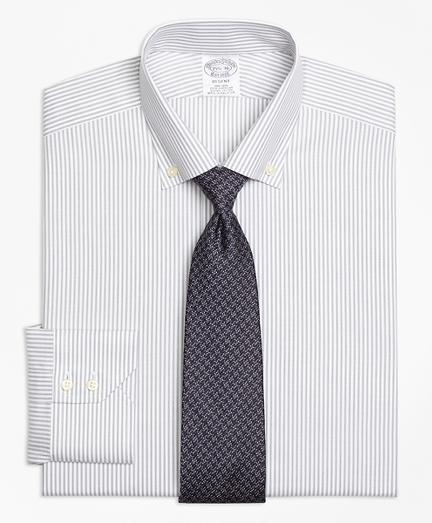 Regent Fitted Dress Shirt, Non-Iron Narrow Split Stripe