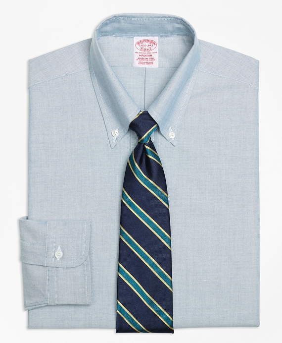 Original Polo® Button-Down Oxford Madison Classic-Fit Dress Shirt Green