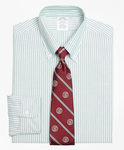 Original Polo® Button-Down Oxford Regent Fitted Dress Shirt, Ground Stripe