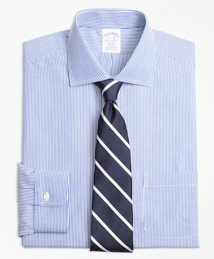 Regent Fitted Dress Shirt, Non-Iron Candy Stripe