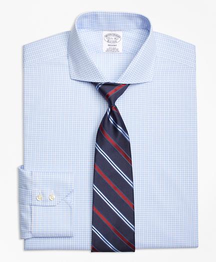 Non-Iron Regent Fit Framed Tattersall Dress Shirt