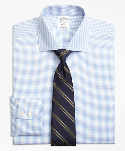 Non-Iron Regent Fit Micro-Check Dress Shirt