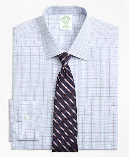 Non-Iron Milano Fit Overcheck Dress Shirt