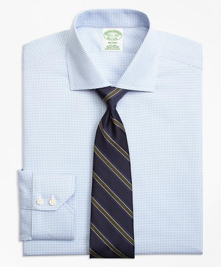 Non-Iron Milano Fit Micro-Check Dress Shirt