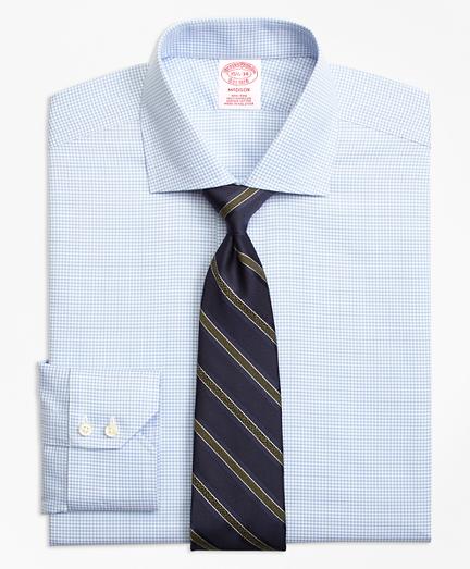 Non-Iron Madison Fit Micro-Check Dress Shirt