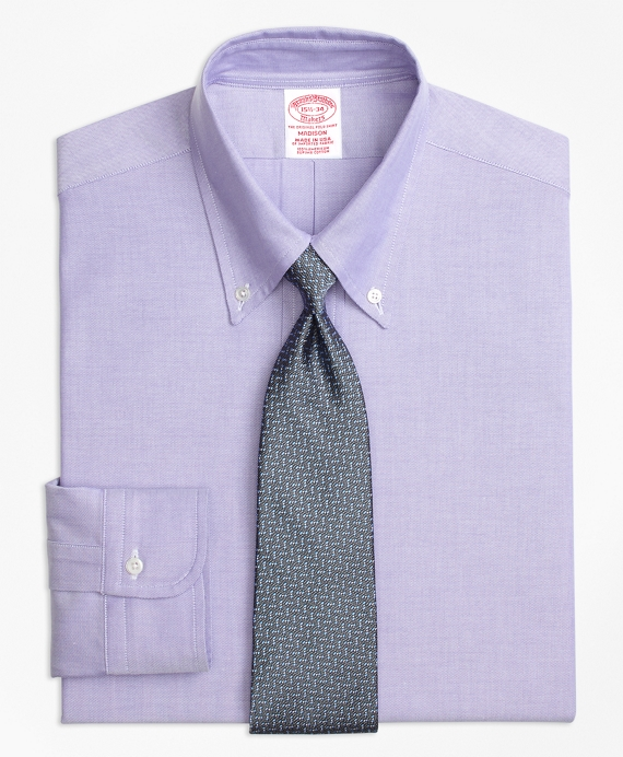 Original Polo® Button-Down Oxford Madison Relaxed-Fit Dress Shirt Purple