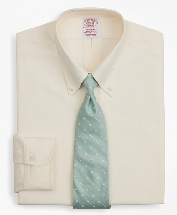 Original Polo® Button-Down Oxford Traditional Extra-Relaxed-Fit Dress Shirt Ecru