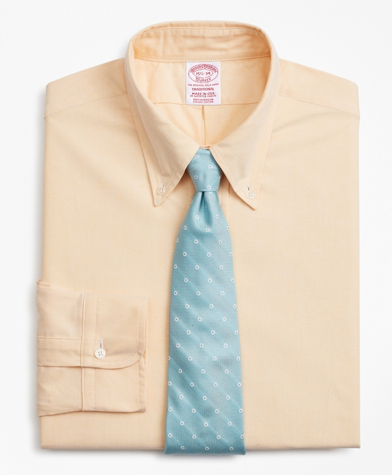 "Brooks Brothers Original Polo Button-Down Oxford Dress Shirt Milano 15.5/"" Collar"