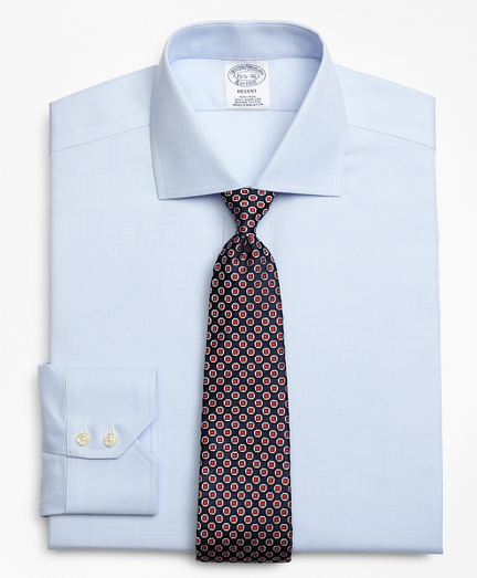 Regent Fitted Dress Shirt, Non-Iron Textured Circles
