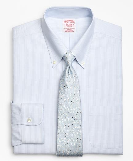 BrooksCool® Madison Classic-Fit Dress Shirt, Non-Iron Tonal Alternating Stripe
