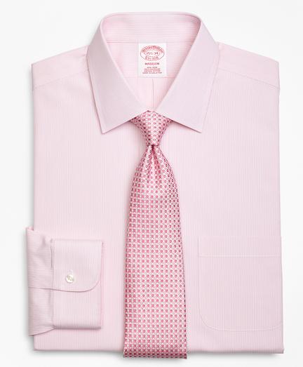 Madison Classic-Fit Dress Shirt, Non-Iron Tonal Framed Stripe