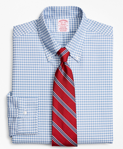 Original Polo® Button-Down Oxford Madison Classic-Fit Dress Shirt, Gingham