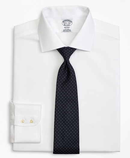 Regent Fitted Dress Shirt, Non-Iron Rope Stripe