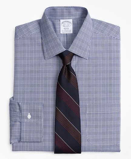 Stretch Regent Regular-Fit Dress Shirt,Non-Iron Glen Plaid
