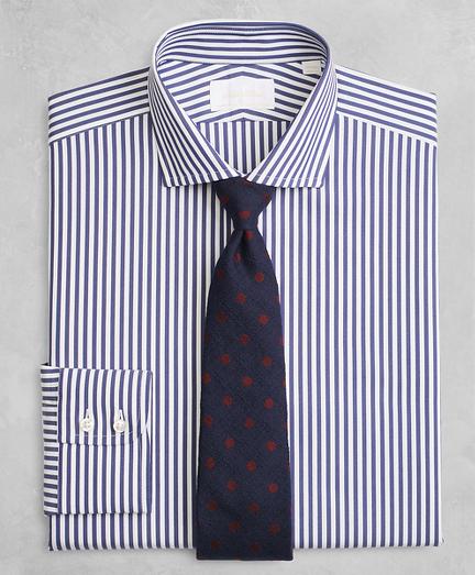 Golden Fleece® Milano Slim-Fit Dress Shirt, English Collar Stripe
