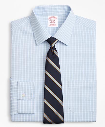 Madison Classic-Fit Dress Shirt, Non-Iron Triple Check