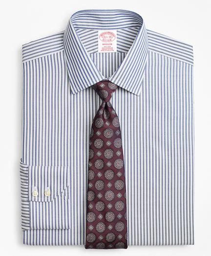 Madison Classic-Fit Dress Shirt, Non-Iron Alternating Twin Stripe