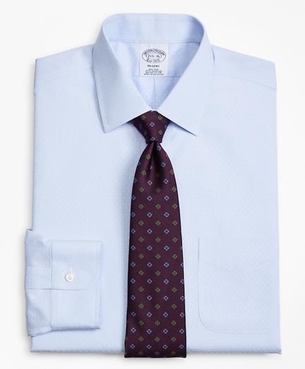 Regent Fitted Dress Shirt, Non-Iron Dobby Stripe