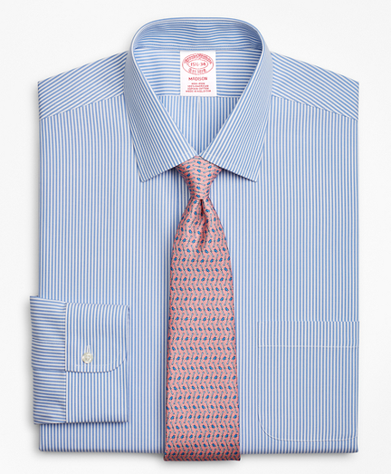 Madison Classic-Fit Dress Shirt, Non-Iron Stripe