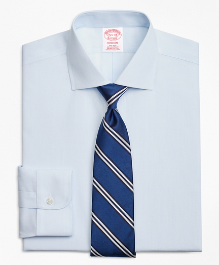 Madison Classic-Fit Dress Shirt, Non-Iron Pencil Stripe
