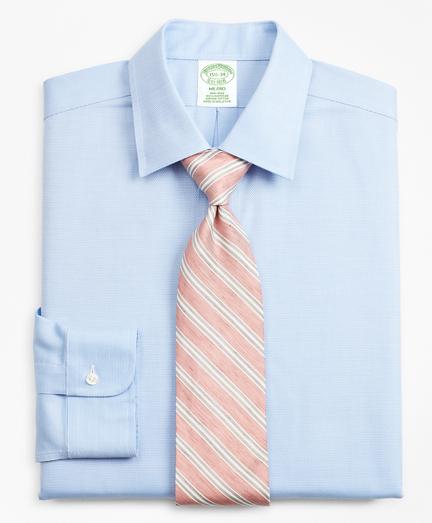 Milano Slim-Fit Dress Shirt, Non-Iron Dobby
