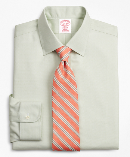 Madison Relaxed-Fit Dress Shirt, Non-Iron Dobby