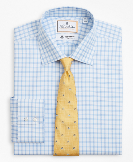 Luxury Collection Regent Fitted Dress Shirt, Franklin Spread Collar Check