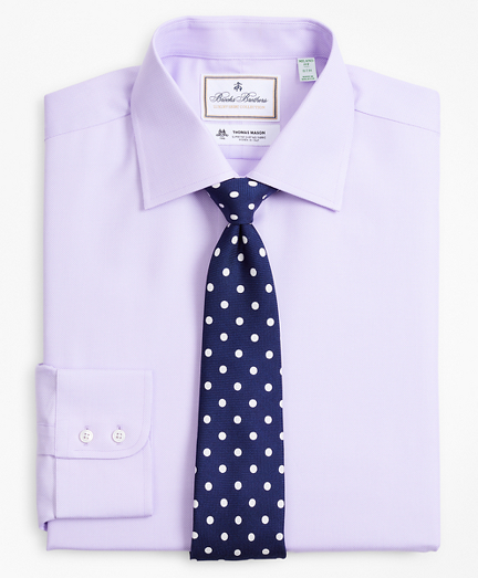 Luxury Collection Milano Slim-Fit Dress Shirt, Franklin Spread Collar Dobby