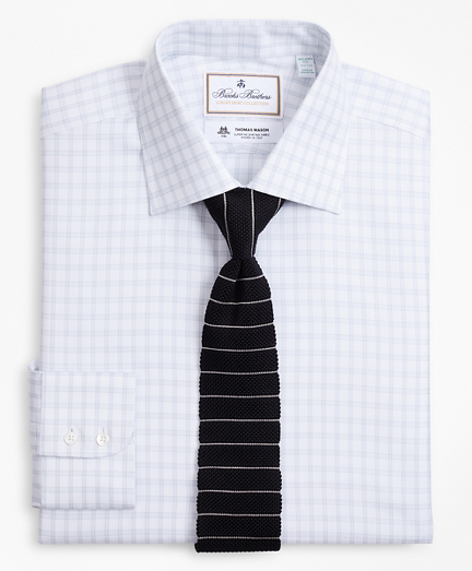 Luxury Collection Milano Slim-Fit Dress Shirt, Franklin Spread Collar Check