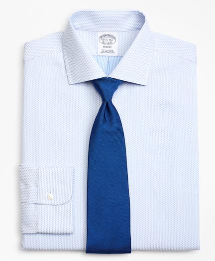 Regent Fitted Dress Shirt, Dobby Diamond