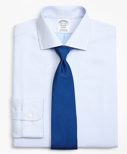 Regent Fitted Dress Shirt, Dobby Diamond