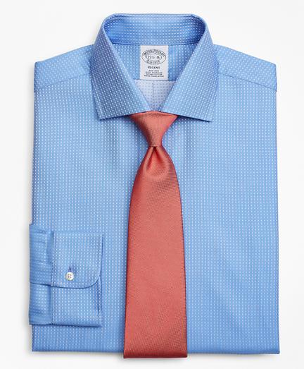 Regent Fitted Dress Shirt, Non-Iron Dobby Dot