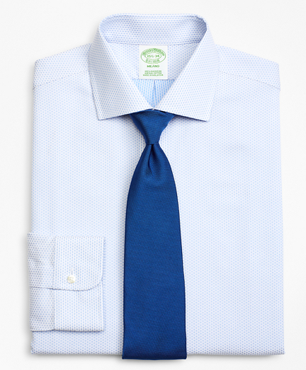 Milano Slim-Fit Dress Shirt, Dobby Diamond