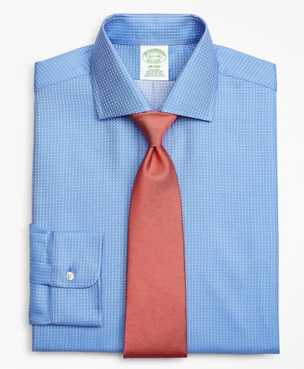 Milano Slim-Fit Dress Shirt, Non-Iron Dobby Dot