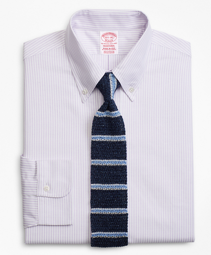 Original Polo® Button-Down Oxford Traditional Relaxed-Fit Dress Shirt, Stripe