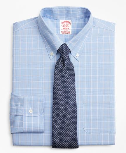 135a50155c Stretch Madison Classic-Fit Dress Shirt, Non-Iron Micro-Check