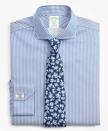 Milano Slim Fit Dress Shirt, Non-Iron Bold Stripe