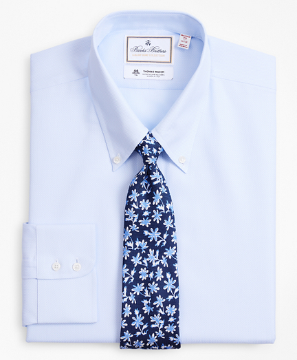 Luxury Collection Madison Classic-Fit Dress Shirt, Button-Down Collar Dobby Links