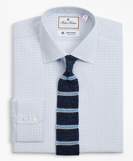 Luxury Collection Madison Classic-Fit Dress Shirt, Franklin Spread Collar Geo Print