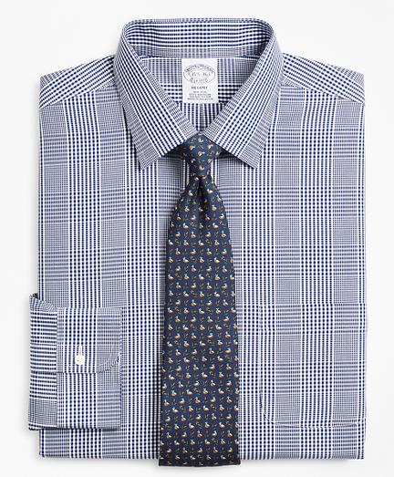 Regent Regular-Fit Dress Shirt, Non-Iron Glen Plaid