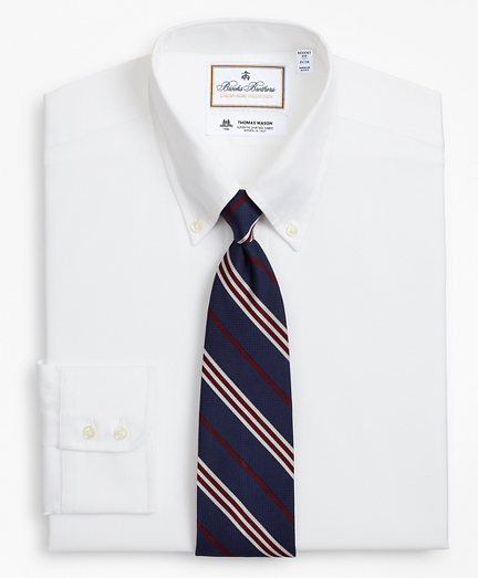 Luxury Collection Regent Fitted Dress Shirt, Button-Down Collar Textured