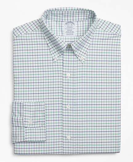 Original Polo® Button-Down Oxford Regent Fitted Dress Shirt, Windowpane