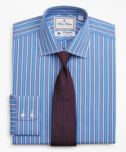 Luxury Collection Regent Regular-Fit Dress Shirt, Franklin Spread Collar Multi-Stripe
