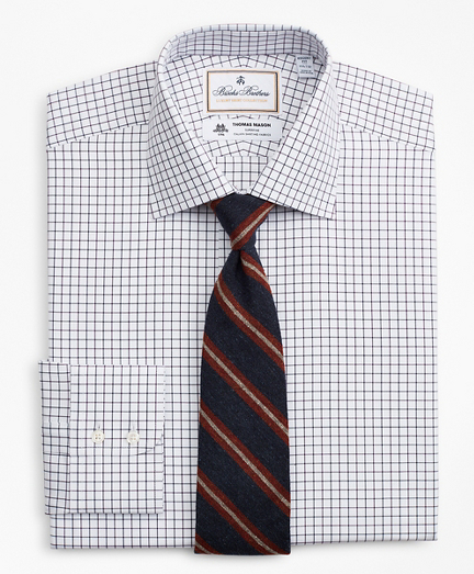 Luxury Collection Regent Regular-Fit Dress Shirt, Franklin Spread Collar Fine Windowpane