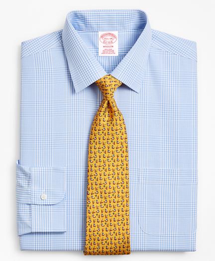 Madison Classic-Fit Dress Shirt, Non-Iron Glen Plaid