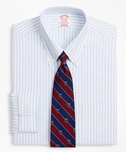 BrooksCool® Madison Classic-Fit Dress Shirt, Non-Iron Stripe