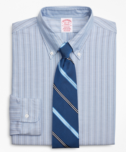 Original Polo® Button-Down Oxford Madison Classic-Fit Dress Shirt, Stripe